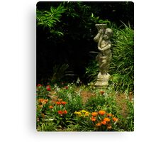 Art In The Gardens ~ Part One Canvas Print