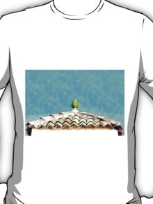 Hotel Sgroi: roof and tiles T-Shirt