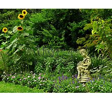 Art In The Gardens ~ Part Two Photographic Print