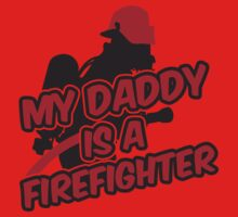 My daddy is a firefighter Kids Clothes