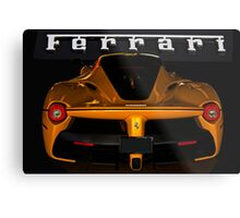 2014 Ferrari 'LaFerrari' Rear Detail Metal Print