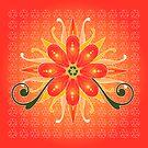 Floral Designs (4) by catherine barnhoorn