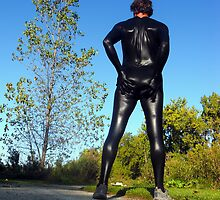 Fall Zentai Run by mdkgraphics