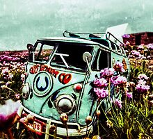 Flower camper 2 by Gary Power
