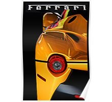 2014 Ferrari 'LaFerrari' Tail Light Detail' Poster