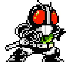 Kamen Rider Black by Lupianwolf
