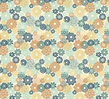 Floral seamless pattern by yulia-rb