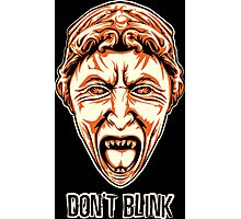 Weeping Angel - Don't Blink - Doctor Who Photographic Print