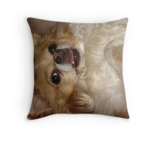Silly Charlie Throw Pillow