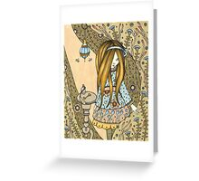 The Little Golden Key Greeting Card