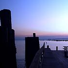 Claiborne Landing at Dusk by Hope Ledebur