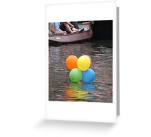 Lost Balloons Greeting Card