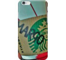 Margo Starbucks Cup iPhone Case/Skin