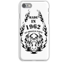 MADE IN 1962 iPhone Case/Skin