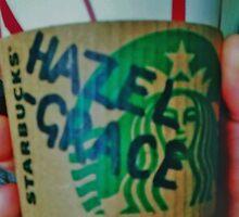 Hazel Grace Starbucks Cup by clarebearhh