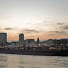 Brighton at dusk by Mark Chapman