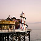 The Helter Skelter on the Pier by Mark Chapman