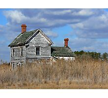 House on the Marsh Photographic Print
