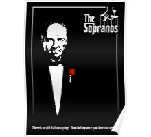 The Sopranos (The Godfather mashup) Poster