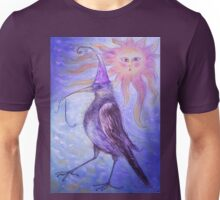 Mystical Bird - Purple Unisex T-Shirt