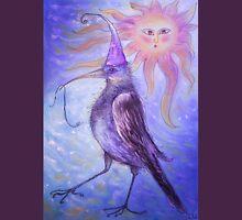 Mystical Bird - Purple Unisex T-Shirt