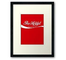 The Hobbit Coca-Cola Framed Print