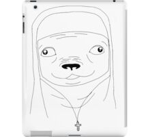Pug nun iPad Case/Skin