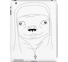 Pug nun iPad Case/Skin