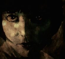 Louise Brooks@watercolour/texture by LoveringArts