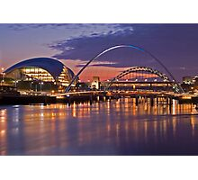 RIVER TYNE SUNSET Photographic Print