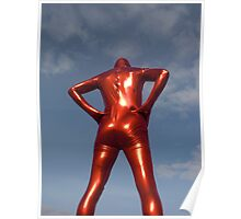 Candy Apple Red Zentai Man 7 Poster