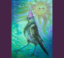 Mystical Bird - Turquoise  Unisex T-Shirt