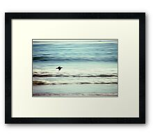 At the Beach 1001.A Framed Print