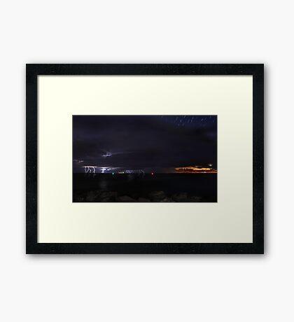 Fremantle Fury  Framed Print