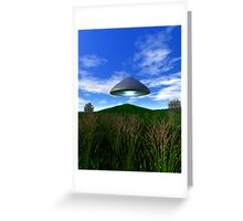 Cone Shaped Saucer Greeting Card