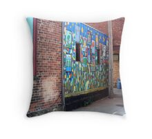 Painted Alley  Throw Pillow