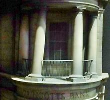 Gringotts Bank by clarebearhh
