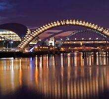 RIVER TYNE REFLECTIONS by Michael Halliday
