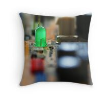 LED astray Throw Pillow