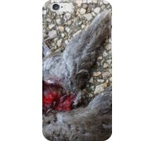 Flying Rat Bird Without Head n°4 iPhone Case/Skin