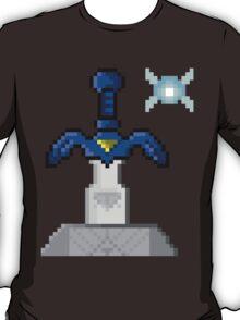 legend of Zelda sword in stone T-Shirt