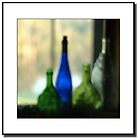 Wine Bottles in Window Sill by ChrisBaker