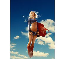 Super woman Photographic Print