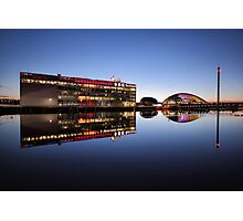 River Clyde Reflections Photographic Print