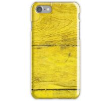 Yellow Planks iPhone Case/Skin