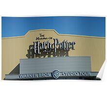The Making of Harry Potter sign Poster