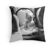 Cute in the ceremony Throw Pillow