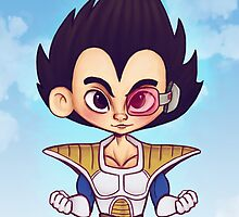 DBZ: Vegeta by bonejangless