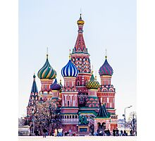 Saint Basils Cathedral Photographic Print