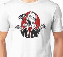 Dracula Vampire Doodle Unisex T-Shirt